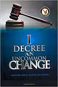 change: Pastor (Mrs) Shade Olukoya: 9780692389409: Amazon.com: Books