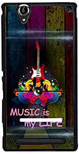 PrintVisa 2D-SXT2-D7900 Mobile Case Cover For Sony Xperia T2 Ultra
