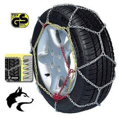 Husky Advanced 9mm Snow Chains 175/70