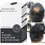 Instant Hair Loss Treatment for Men & Women - 100%, Building Keratin Fibers Cover Thinning and Balding Spots - Make Hair Thicker (5 Week Supply, Light Brown) (Color: Light Brown, Tamaño: 5 Week Supply)