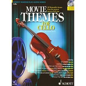 Movie Themes for Cello: 12 unvergessliche Melodien aus den größten Filmen aller Zeiten.