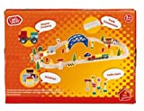 Perfect for little train fans with big imaginations. 60 Piece Train Set.