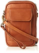 David King & Co. Male Bag with Organizer Inside, Tan, One Size