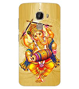 ColourCraft Lord Ganesha Design Back Case Cover for LeEco Le 2 Pro