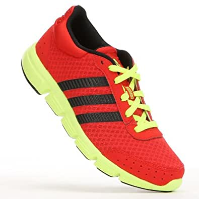 Amazon.com: adidas Yellow Breeze Athletic Shoes - Boys: Shoes