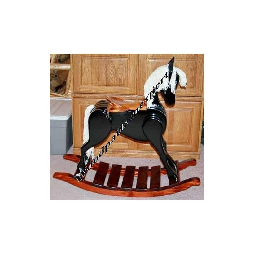 Build Your Own Rocking Horse Heirloom Pattern Diy Plans