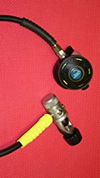 /F1803/F1804/F1809 Black Regulator with Octo/Hose Free Shipping