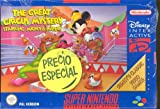 echange, troc The Great Circus Starring mickey and minnie SP - Super Nintendo - PAL