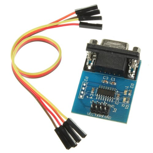 Serial Port To Ttl Converter Module Sp3232Een 5V/3.3V W/ Jump Cables