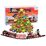 i play. Northern Express Christmas Train set - Around the Tree Holiday Santa Train set - Large Scale 20pcs Train ...