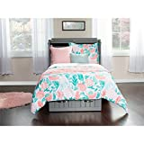 Atlantic Furniture AC592149 Nantucket Murphy Bed Chest with Charging Station & Coolsoft Mattress, Twin, Grey (Color: Grey, Tamaño: Twin)