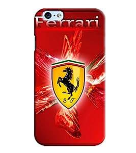 Blue Throat Ferrrari Inspired Design Printed Designer Back Cover/ Case For Apple iPhone 6 Plus