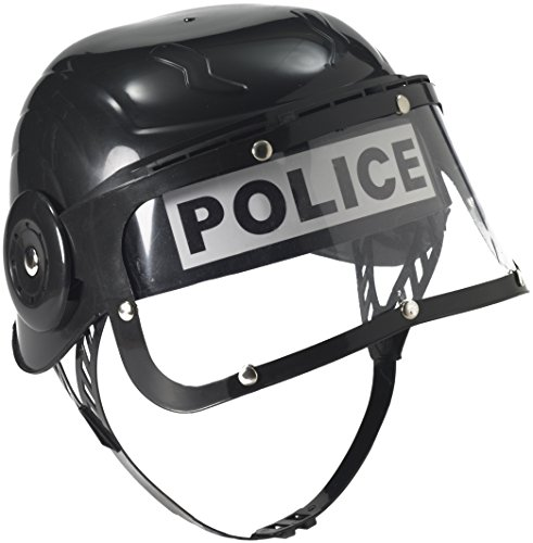 Forum Child Police Helmet, Black - 1