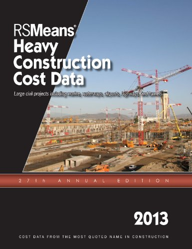 RSMeans Heavy Construction Cost Data 2013 - RS Means - RS-Heavy - ISBN: 1936335646 - ISBN-13: 9781936335640