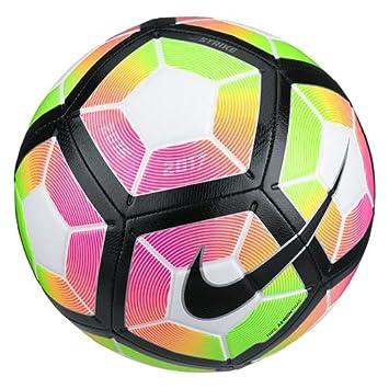 Nike Strike Soccer ball Football White/Volt/Pink/Black SC2983-100 Size 5 at amazon