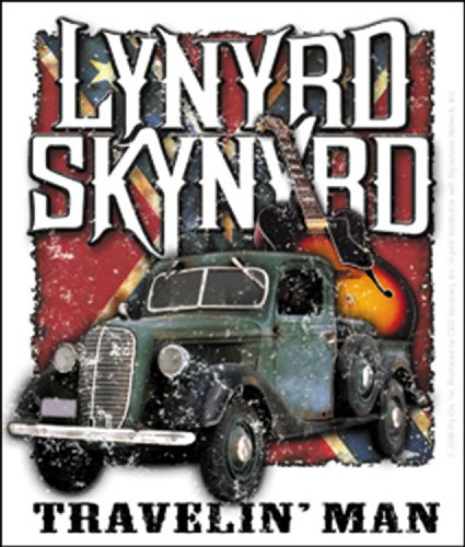 Licenses Products Lynyrd Skynyrd Travelin Man Sticker
