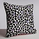 Grey Matter Embroidered Cushion by Nathalie Du Pasquier for WRONG FOR HAY