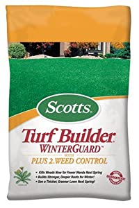 Scotts Turf Builder WinterGuard with PLUS 2 Weed Control - 45 lb. 38715 (Discontinued by Manufacturer)