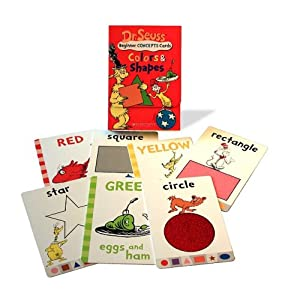 Dr. Seuss Learning Cards: Colors & Shapes (Dr. Seuss Novelty Se) by