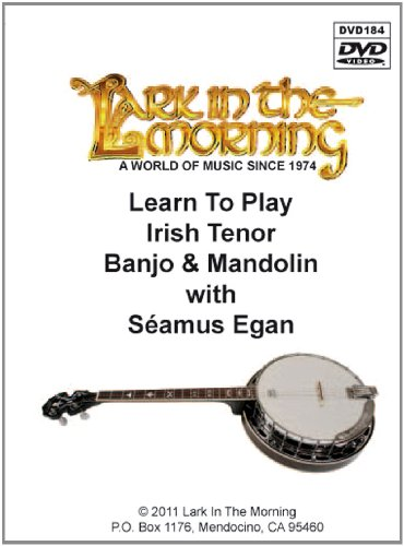 Aprender a tocar mandolina - 0 - Banjo Tenor irlandés [DVD] y [Import]