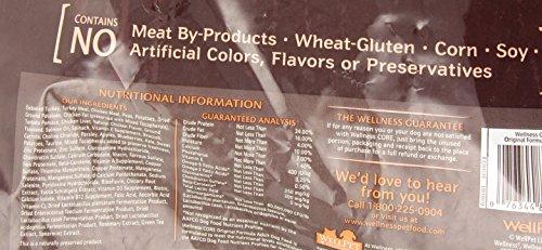 Wellness CORE Grain Free Original Turkey & Chicken Natural Dry Dog Food, 26-Pound Bag_Image3