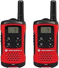 Comprar Motorola 59T40PACK - Walkie-talkie radio emisor y receptor PMR, rojo