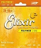Elixir® Strings Banjo Strings with POLYWEB® Coating, Light (.009-.020)