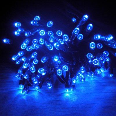 Ytm(Tm) 400 Leds 40M Blue Solar Fairy Light Waterproof -- Garden Outdoor Christmas Decoration Lights