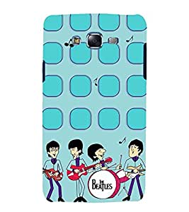 Vizagbeats The beatles band Back Case Cover for Samsung Galaxy J7::Samsung J7 2015