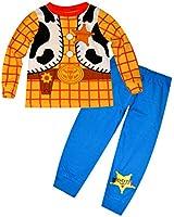 Disney Toy Story lueur dans l'obscurité Nouveauté garçons Long Length Pyjama 1.5-2,2-3,3-4,4-5 ans