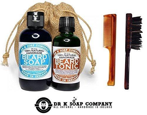 DR K SOAP COMPANY - DELUXE BEARD CARE SET