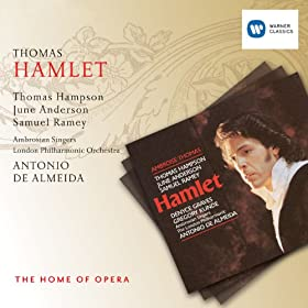 Hamlet - Acte V - Le Cimetière D'Elseneur - Appendices - Finale (Dit De Covent Garden) : Ophélie ! Hamlet ! (Hamlet, Le Roi, La Reine, Marcellus, Horatio, Polonius, Le Spectre)