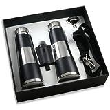 Premium Binocular Flask Gift Set