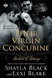 Their Virgin Concubine, Masters of Ménage, Book 3