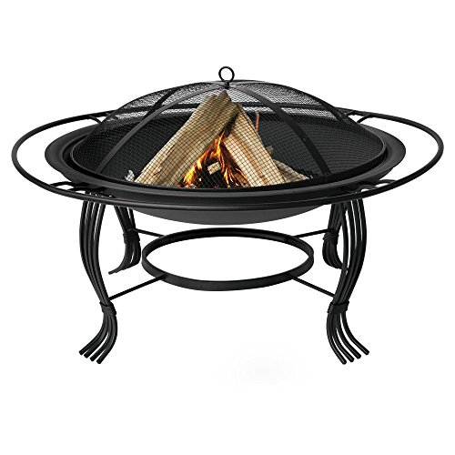 Uniflame-346-in-Round-Wood-Burning-Fire-Bowl-with-Outer-Ring