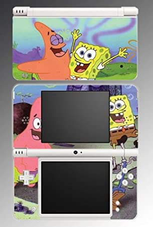 Spongebob Squarepants Patrick Vinyl Decal Skin Protector Cover #3 for Nintendo DSi XL