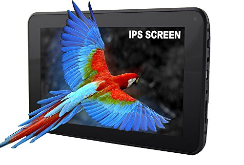 Azpen A743 7 inch Quad Core Android 5 1 Lollipop tablet HD LCD IPS Display  1GB RAM 8GB Storage Bluetooth eBook Game and Google Play
