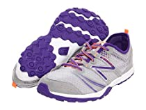 New Balance KT20 Minimus Pre Trail Running Shoe (Little Kid/Big Kid),Grey/Purple,2 W US Little Kid