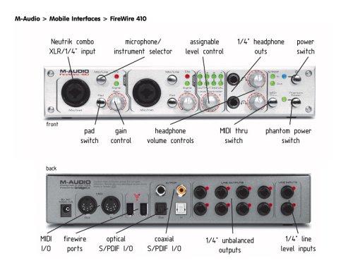 Mac firewire 410 audio driver m for
