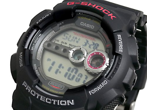 Casio CASIO G shock g-shock high luminance LED watch GD 100-1 A parallel imported goods