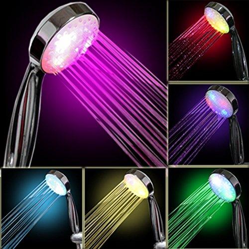 Dayan Color Changing Led Lights Temperature Control Color Changing Shower Head Bathroom Showerheads Shower Head Sprinkler