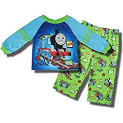 Thomas the Tank Engine 2 piece pajama set for toddlers