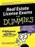 img - for Real Estate License Exams For Dummies 1st (first) Edition by John A. Yoegel, Drei [2005] book / textbook / text book