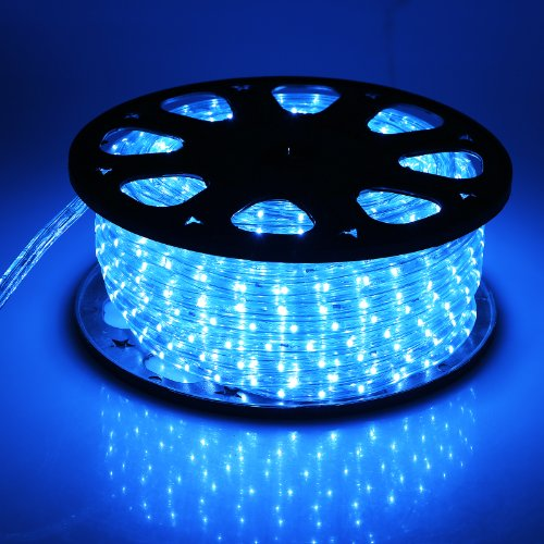 Indoor Outdoor Led Light Strip: OUTT® 150′ LED Strip Rope Light Christmas Light Indoor And