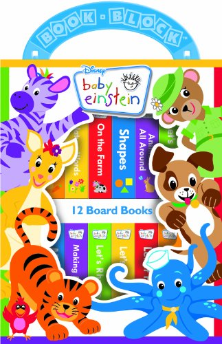 Disney Baby Einstein 12-Book Library