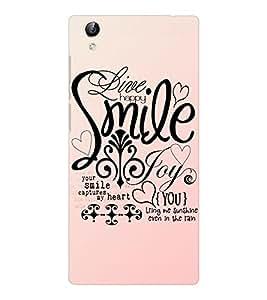 EPICCASE smile joy happy Mobile Back Case Cover For Vivo Y51 (Designer Case)