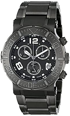 Invicta Men's 6761 Reserve Collection Chronograph Gunmetal Ion-Plated Stainless Steel Watch