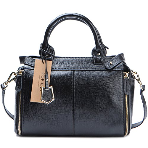 TOP-BAG®Beautiful Women Ladies' Genuine Leather Handbag Shoulder Handbag, SF0570