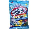 Dubble Bubble Fruit Flavored Gum Balls (4 Pack of 5 Ounce Bags)