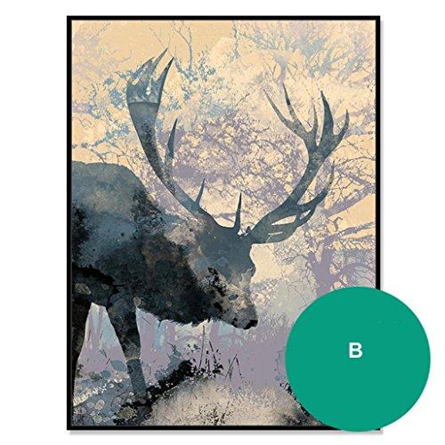 retro-stil-umweltfreundlich-ps-gerahmter-giclee-leinwand-abstrakte-malerei-modern-dekoration-malerei